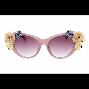 Accessories - NEW Pink Floral Sunglasses